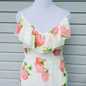 2cb91d69fc4d HeartSoul Dresses | Nwt Hearlsoul Highlo Floral Sheer Dress Feminine ...